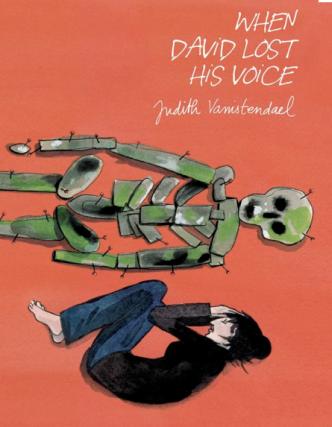 De Engelstalige uitgave van 'Toen David zijn stem verloor'.